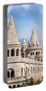 Fisherman Bastion In Budapest Portable Battery Charger