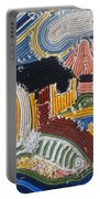 Fishermans Cottages String Collage Portable Battery Charger
