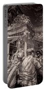 Fisherman's Feast North End Of Boston Portable Battery Charger by Joann Vitali