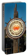 Fisherman's Wharf Sign Portable Battery Charger