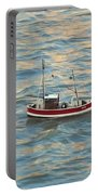 Fishing Boat Jean Portable Battery Charger