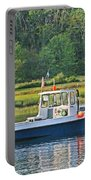 Fishing Boat Cape Neddick Maine Portable Battery Charger
