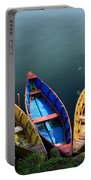 Fishing Boats - Nepal Portable Battery Charger