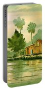 Fishing Cabin - Aucilla River Portable Battery Charger