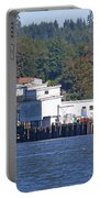 Fishing Docks On Puget Sound Portable Battery Charger