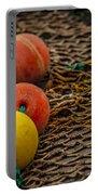 Fishing Gear Abstract Portable Battery Charger