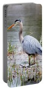 Fishing Heron  Portable Battery Charger