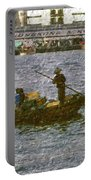 Fishing In Hong Kong Vintage  Portable Battery Charger