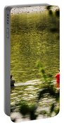 Fishing In The Pond Portable Battery Charger
