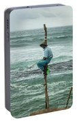 Fishing On A Pole Portable Battery Charger