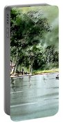 Fishing On Lazy Days - Aucilla River Florida Portable Battery Charger