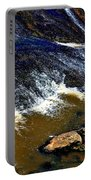 Fishing On The South Fork River Portable Battery Charger