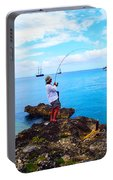 Fishing Paradise Portable Battery Charger