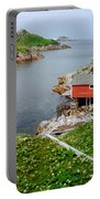 Fishing Stage Little Fogo Island Newfoundland Portable Battery Charger