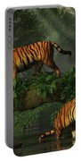 Fishing Tigers Portable Battery Charger