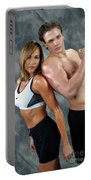 Fitness Couple 43 Portable Battery Charger