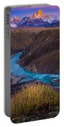 Fitz Roy Dawn   Portable Battery Charger