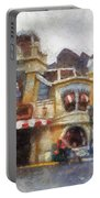 Five And Dime Disneyland Toontown Photo Art 02 Portable Battery Charger