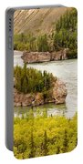 Five Finger Rapids Of Yukon River Yukon T Canada Portable Battery Charger