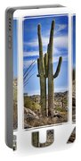 Five Saguaros Portable Battery Charger