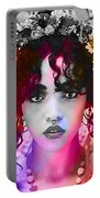 Fka Twigs Painting Portable Battery Charger