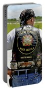 Fla Post 4143 Vfw Rider Color Usa Portable Battery Charger