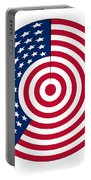 Flag Circle Portable Battery Charger