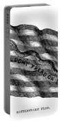 Flag: Dont Tread On Me Portable Battery Charger