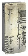 1927 Flag Spreader Patent Drawing Portable Battery Charger