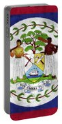 Flag Of Belize Portable Battery Charger