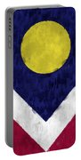 Flag Of Denver Portable Battery Charger