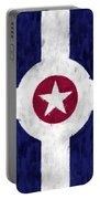 Flag Of Indianapolis Portable Battery Charger
