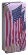 Flags At Cape May Nj Portable Battery Charger