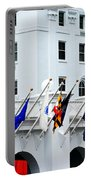 Flags At The Greenbrier Portable Battery Charger