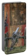 Flags Of The Confederacy Portable Battery Charger by Randy Steele