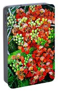 Flamboyant In Bloom Portable Battery Charger