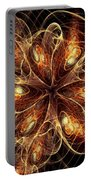 Flame Flower Portable Battery Charger