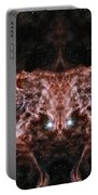 Flame Nebula Reflection Portable Battery Charger
