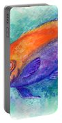 Flameback Angelfish Portable Battery Charger