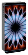 Flames Kaleidoscope 1 Portable Battery Charger