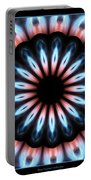 Flames Kaleidoscope 3 Portable Battery Charger