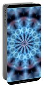 Flames Kaleidoscope 4 Portable Battery Charger