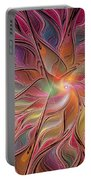 Flames Of Happiness Portable Battery Charger