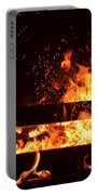 Flaming Darkness Portable Battery Charger
