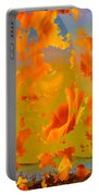 Flaming Indian Girl Sunset Portable Battery Charger