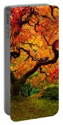 Flaming Maple Portable Battery Charger