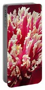 Flaming Peony Portable Battery Charger