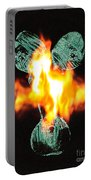 Flaming Personality Portable Battery Charger