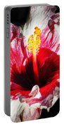 Flaming Petals Portable Battery Charger