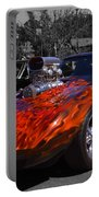 Flaming Vette Portable Battery Charger